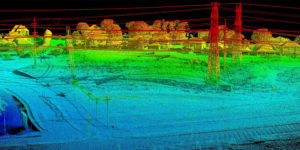 Drone LiDAR Transmission and Distribution