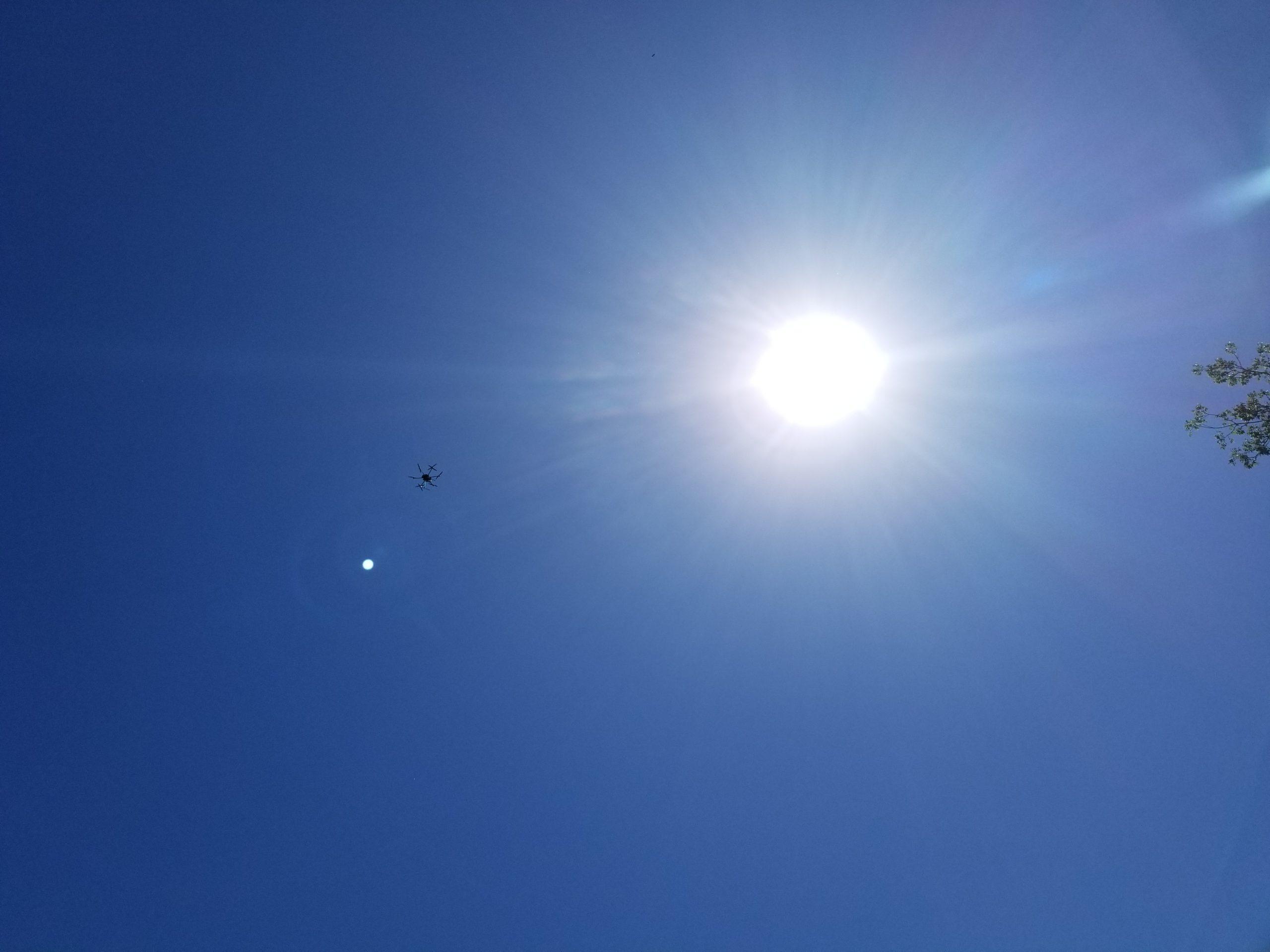 LiDAR Drone Flight