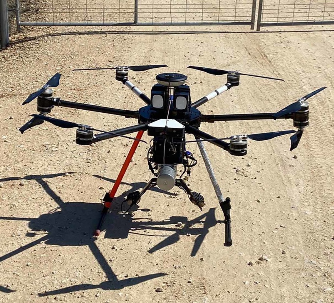 Drone LiDAR Electric Utility Substation