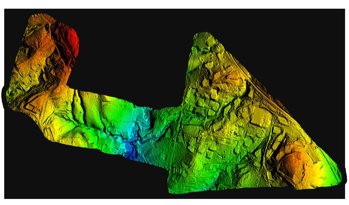 Drone LiDAR Oil Pad DTM WEB